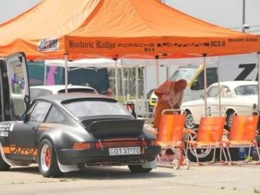 Mecsek Historic Rallye Kövesdán